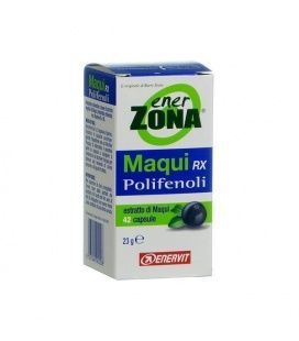ENERZONA MAQUI RX POLIFENOLES 13G 24 CAPSULAS