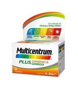 Multicentrum Plus Ginseng Y Ginkgo 30 Comp