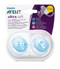 Chupete Silicona Philips Avent Ultrasoft Decorado