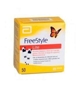 Freestyle Lite 50 Tiras Reactivas