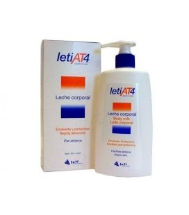 LETI AT-4 LECHE CORPORAL C/DOSIF 250 ML.