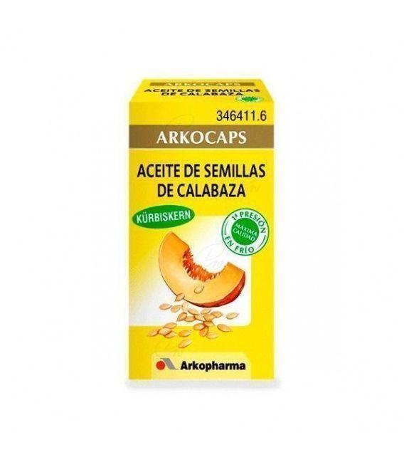 Aceite Semilla Calabaza Arko 50 Capsulas