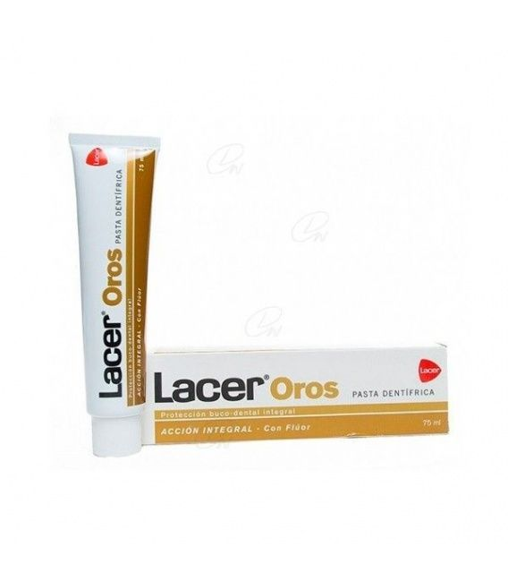 Lacer Oros Pasta  75 Ml Laminado