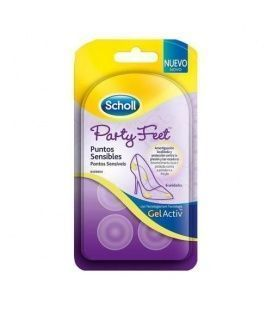 Scholl Party Feet Puntos Sensibles Con Tecnologi
