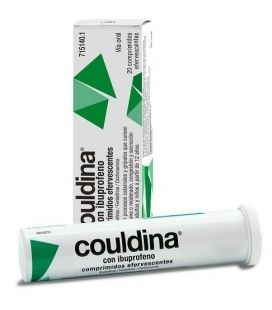 COULDINA CON IBUPROFENO 400/2/7.5 MG 20 COMP