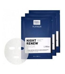 Martiderm Mascarill Platinum Night Renew 5 Und