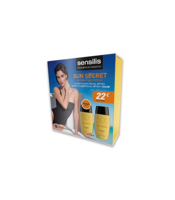 SUN SECRET PACK FLUIDO+COLOR SPF50