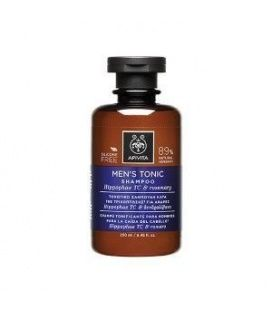 Apivita Sh.tonic.men.hip&ros.250ml/17
