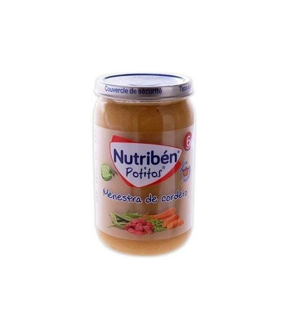 POTITO NUTRIBEN MENESTRA DE CORDERO