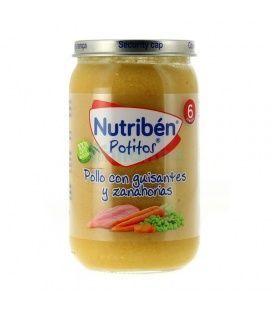 POTITO NUTRIBEN POLLO GUISANTES Y ZANAHORIA