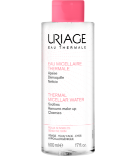 Uriage Agua Micelar Termal Piel Sensible Con Rojeces 500ml