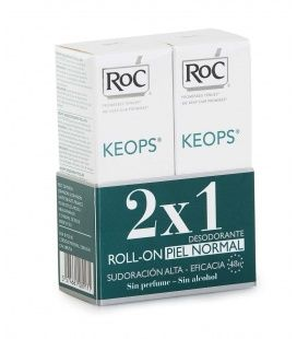 KEOPS DESODORANTE ROLL ON PIEL NORMAL 2X1