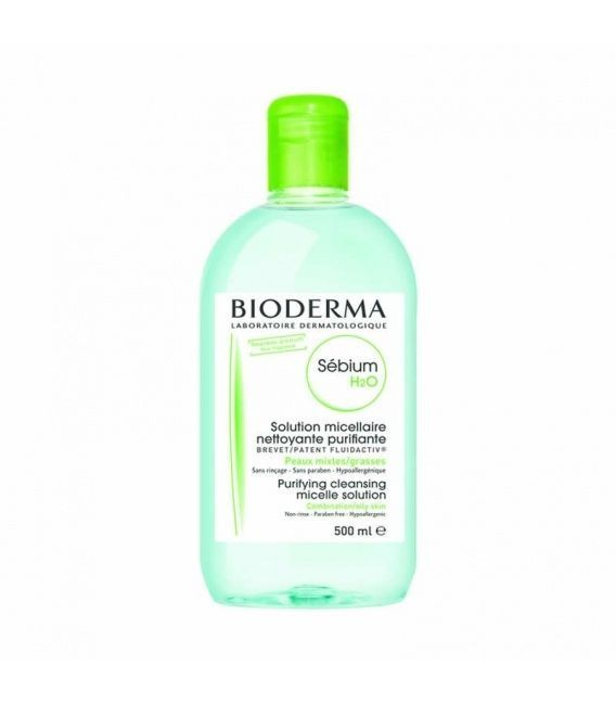 BIODERMA SEBIUM H2O SOLUCION MICELAR 500 ML