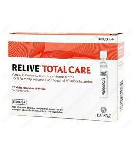 RELIVE TOTAL CARE GOTAS OFTALMICAS ESTERIL 0.4 M