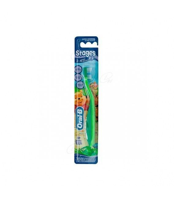 Cepillo Oral B Stages (2 - 4 Años)