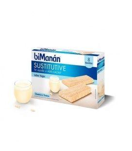 Bimanan Sustitutive Yogur 8 barritas