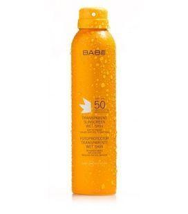 Babe Fotoprotector Transparente Wet Skin SPF50 200ML