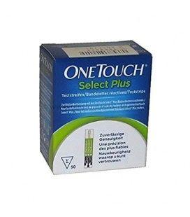 Tiras Reactivas Glucemia Onetouch Select Plus 50 tiras