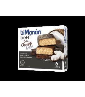 Bimanan Befit Barrita Chocolate-Coco 6 Barritas