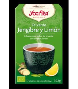 Yogi Tea Te Verde Jengibre y Limon