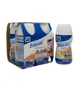 Ensure Nutrivigor 4 Botellas 220 ml Sabor Vainilla