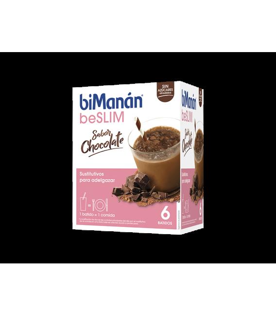 Bimanan beSLIM 6 Batidos sabor Chocolate