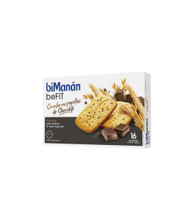 Bimanan BeFit Galletas Cereales Con Pepitas de Chocolate 200g