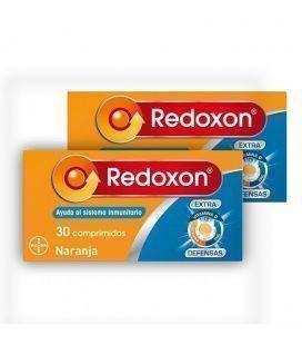 Pack 2 Unidades Redoxon Extra Defensas 30 Comprimidos Efervescentes