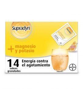 Supradyn + Magnesio Y Potasio 14 Sobres