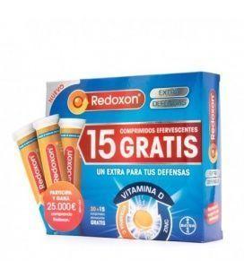Redoxon Promo Extra Defensas 30 + 15 Comprimidos Efervescentes