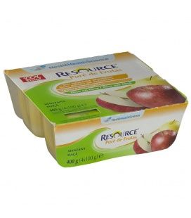 Resource Pure De Frutas 100g 4 Tarrinas Manzana