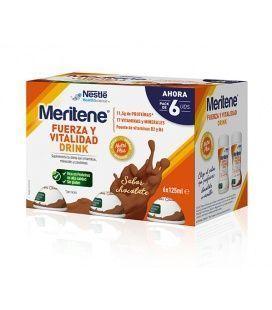 Pack Meritene Drink Chocolate 6X125 Ml