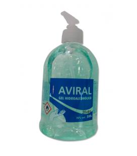 Aviral Gel Hidroalcohólico para la desinfección de manos de 500 ml