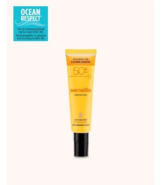 Sensilis Sun Secret Tratamiento Antiedad Fluido Color SPF50 50ml