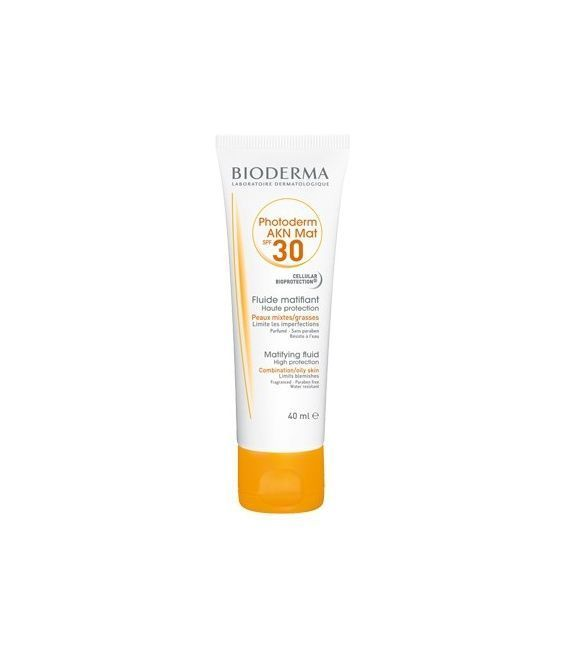 Bioderma Photoderm AKN SPF 40 Matificante Fluido 40 ML