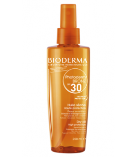 Bioderma Photoderm Bronz Aceite Seco SPF30 Spray 200ml