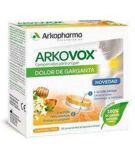 Arkovox Miel Y Limon Sin Azucar 24 Pastillas