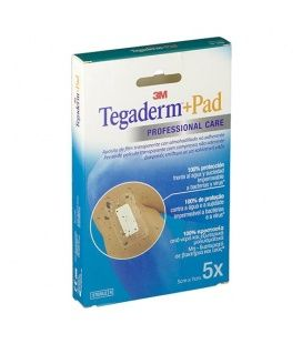 Tegaderm + PAD 5 X 7 cm 5 Apositos