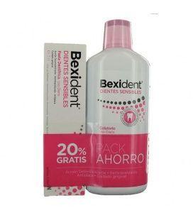 Pack Bexident Dientes Sensibles PASTA 75 ml + Colutorio