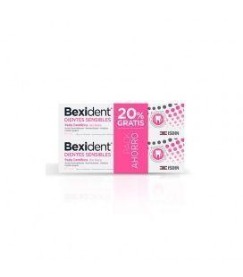 Pack Bexident Dientes Sensibles Pasta de Dientes 75 + 75 ml