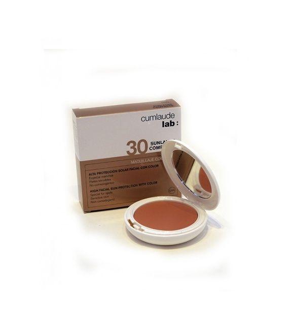 Cumlaude Sunlaude Compacto SPF 30+ I.P 10 gramos