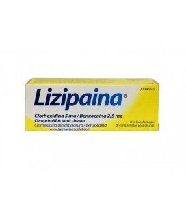 Lizipaina 20 Comprimidos Para Chupar