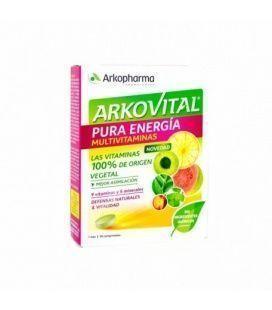Arkovital Pura Energía Multivitamínico 30 Comprimidos