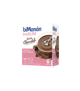 Bimanan beslim 6 natillas sabor chocolate