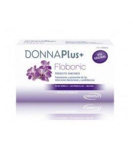 Donna Plus+ Floboric 7 Cápsulas Vaginales
