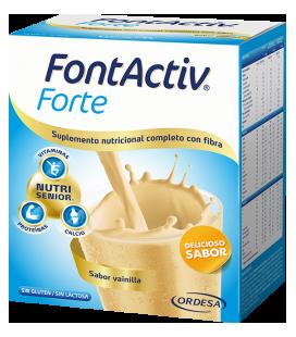 Fontactiv Forte Vainilla 30 Gramos 14 Sobres