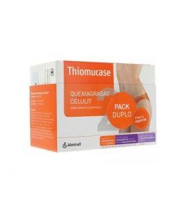 Thiomucase Quemagrasa Celulit Kit 60 + 30 Comprimidos Gratis