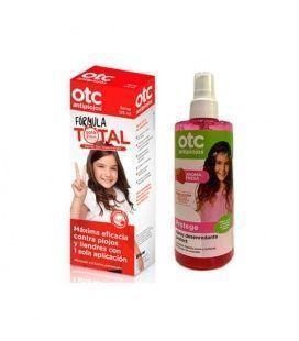 OTC Pack Fórmula Total Antipiojos + Spray Desenredante Fresa