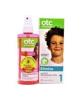 OTC Pack Tratamiento Locion + Spray Desenredante Fresa