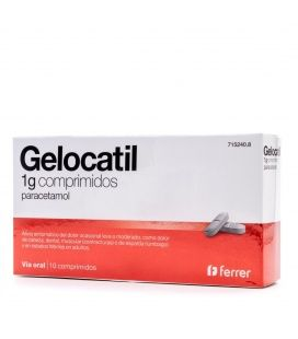 Gelocatil 1g 10 Comprimidos